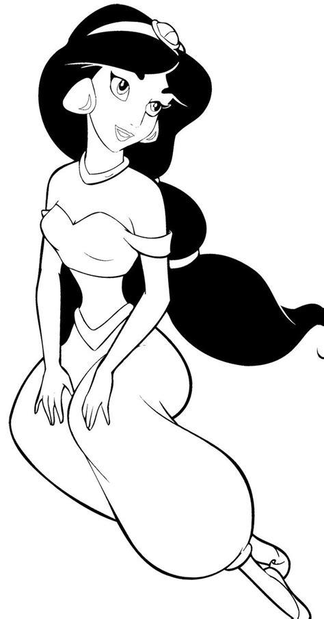 coloring pages disney jasmine disney princess coloring pages jasmine coloring home