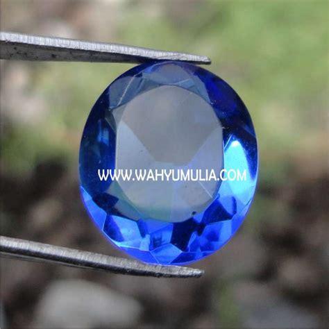 Batu Obsidian Kotak Blue Biru batu permata blue obsidian kode 142 wahyu mulia