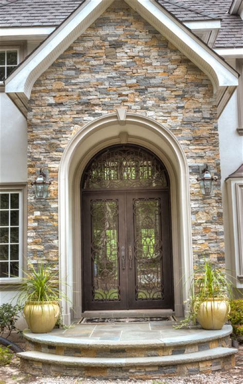Home Decor Boston european style home with natural thin stacked stone