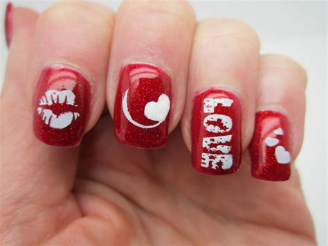 valentines nail 60 s day nail designs for 2015