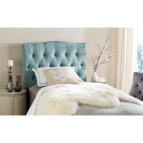 blue twin headboard safavieh axel sky blue twin headboard mcr4028d the home