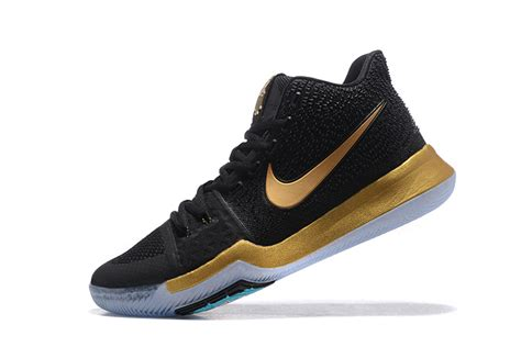 basketball shoes for for sale 2017 cheap nike kyrie 3 black gold basketball shoes for