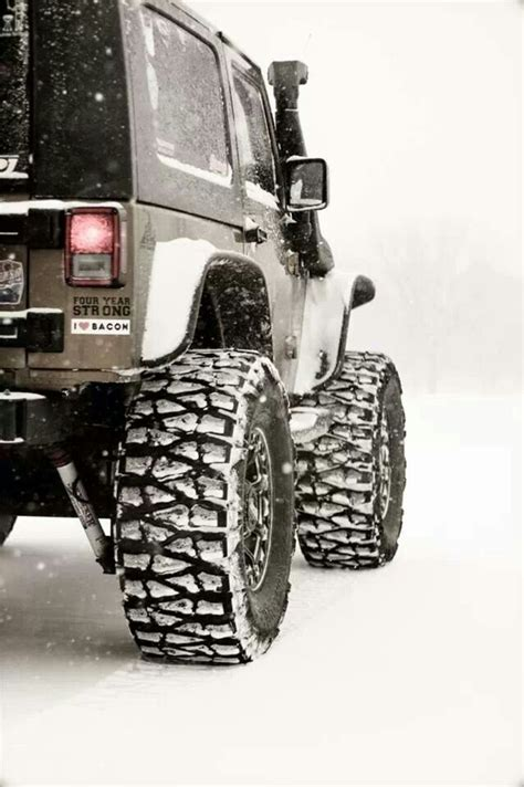 Jeep Snow Tires Jeep Aggressive Tires Snow Sounds Right Best