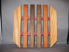 waffle pattern trivet plans wood trivets diy wood