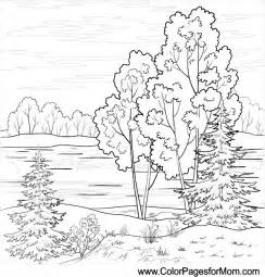 Landscape Coloring Pages Landscape Coloring Page 16 Colorpagesforadults Coloring