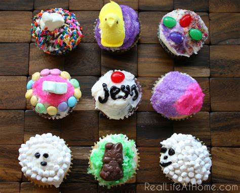 Decorating Ideas For Easter Cupcakes Easy Easter Cupcake Decorating Ideas For Real