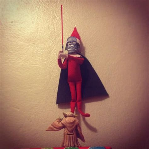 elf on the shelf star wars printable elf on the shelf star wars darth vader yoda using the