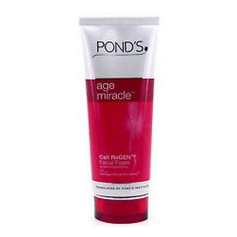 Ponds Ff Age Miracle 100gr ponds age miracle cell regen foam 100g skin