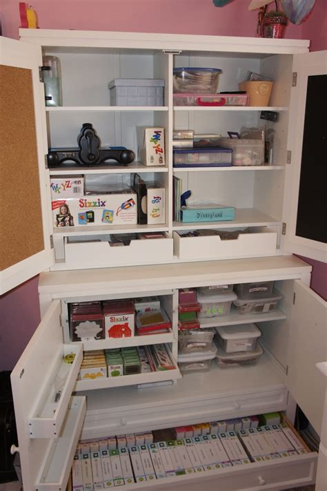 sewing room storage furniture pin by corrine mead on craft sewing room ideas