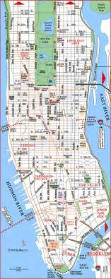 New York Subway Map With Streets by Map Of Manhattan Places I D Like To Go Pinterest