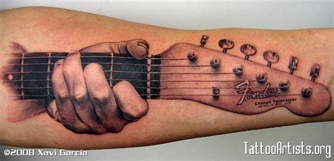 guitar neck tattoo designs guitar tattoos