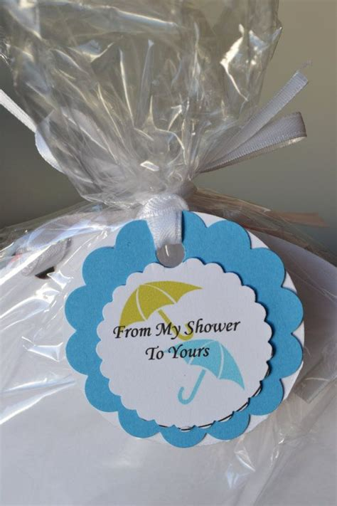 umbrella baby shower favors favor tags baby shower umbrella shower favors