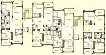 Apartment Blueprints by Apartment Unit Plans Apartments Typical Floor Plan