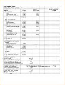 Free Personal Balance Sheet Template by Doc 568715 Personal Balance Sheet Template Free Excel