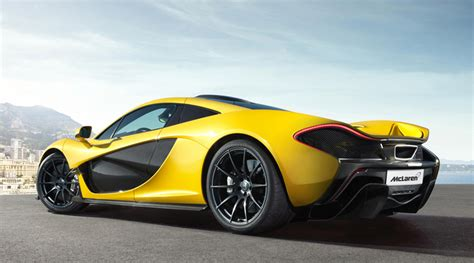 mclaren p1 supercar is an electric in hybrid
