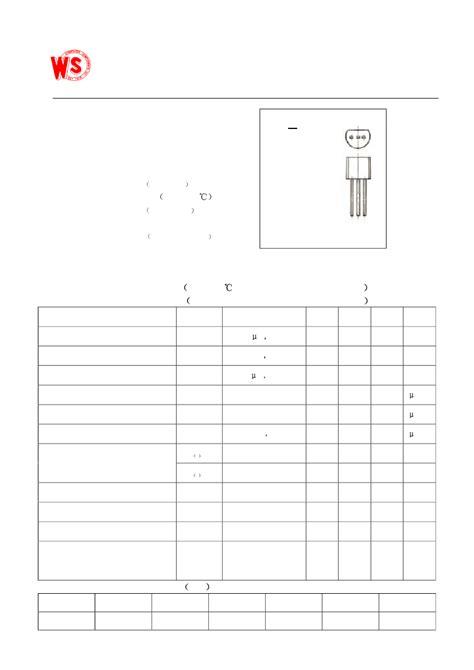 datasheet transistor npn 9013 datasheet transistor npn 9013 28 images s9013 datasheet pdf pinout npn general purpose