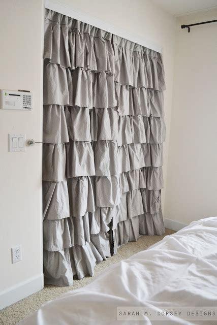 describe curtains 18 closet door makeovers that ll give you closet envy