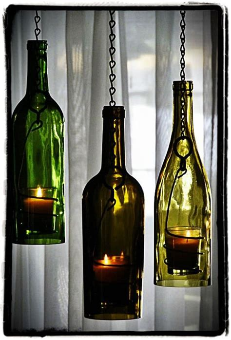 glass bottle craft projects 1000 images about wine bottle lights on diy