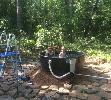 outside bathtub redneck outdoor tub 2