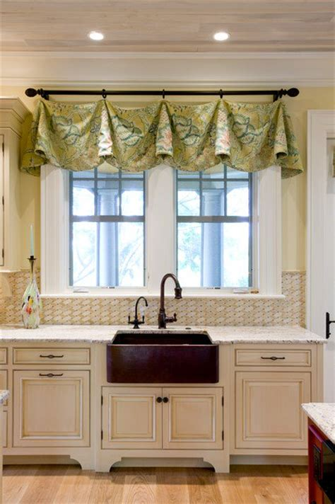 kitchen valances ideas 30 impressive kitchen window treatment ideas
