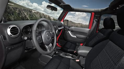 Inside Of A Jeep Jeep Wrangler Is But Ready