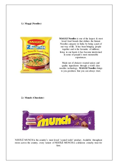 Nestle Project Report Mba by Nestle India Tahliwal Plant S Industrial Performance