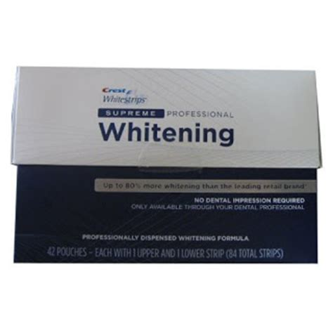 crest whitestrip supreme crest whitestrips dental teeth whiteninig