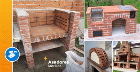 asadores de ladrillos  tu patio  jardin ideas perfectas