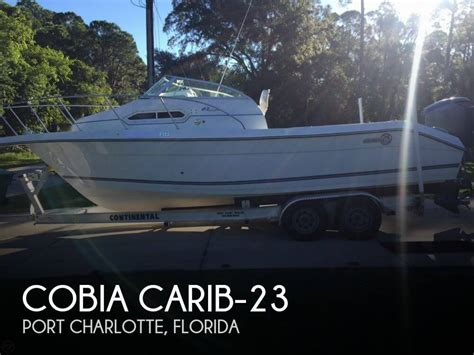 used boats for sale in port charlotte florida for sale used 1996 cobia carib 23 in port charlotte