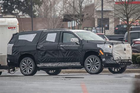 2020 Cadillac Escalade News by 2020 Cadillac Escalade Spied With Makeshift Dodge Ram