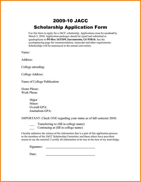 Scholarship Cancellation Letter 7 Letter For Scholarship Grant Ledger Paper