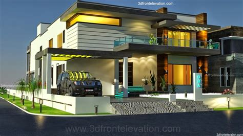 European House Floor Plans by 3d Front Elevation Com 2 2 Kanal Dha Karachi Modern