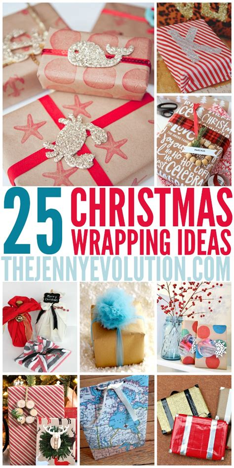 christmas ideas christmas wrapping ideas the jenny evolution