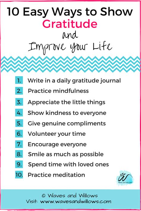 10 Ways To Show Your by Gratitude 10 Easy Ways To Show Gratitude And Improve Your