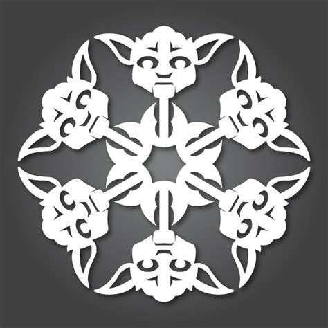 wars snowflakes template it s snowing wars 10 new diy wars paper