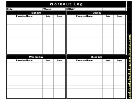 printable food log bodybuilding bodybuilding workout log workout everydayentropy com