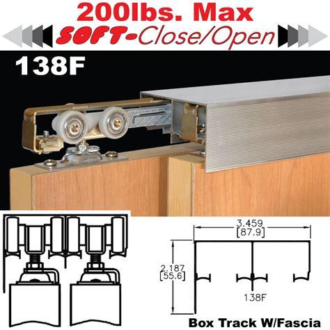 bypass cabinet door hardware johnson hardware 138f sliding bypass door hardware jhusa