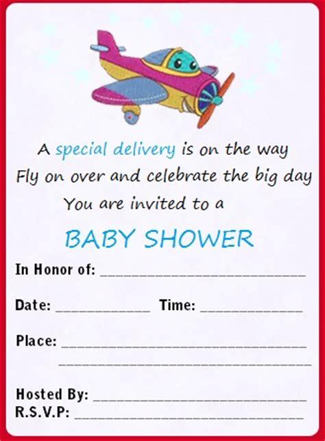 airplane invitation template airplane baby shower invitations template best template