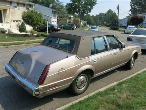 1986 lincoln continental for sale classiccars com cc 908719