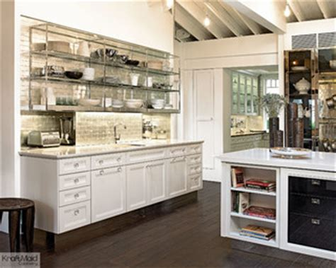 Kraft Bathroom Nyc Kraftmaid Maple Cabinetry In Dove White Transitional