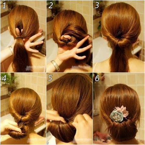 diy easy hairstyles step by step fashionzc hairstyle 4 easy step by step prom hairstyles