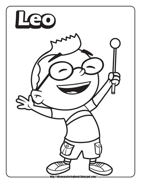 Little Einstein Coloring Pages Az Coloring Pages Einsteins Colouring Pages