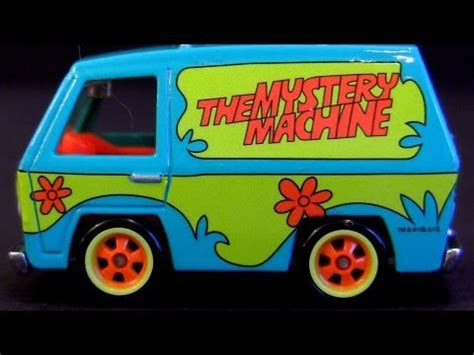 scooby doo mystery machine comic con wheels sdcc 2012 exclusive cars by blucollection