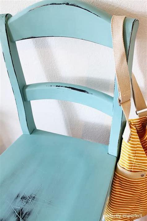 diy chalk paint chair using chalk paint