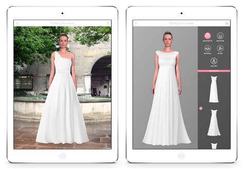 Design Dress App | wedding dress studio enables brides virtually try on
