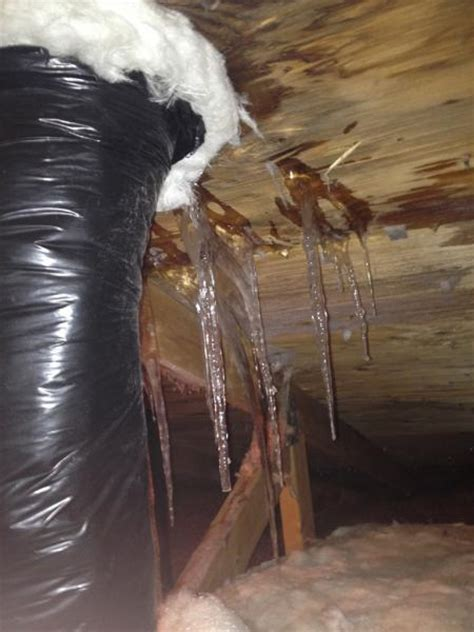 leaky roof near bathroom exhaust vent doityourselfcom