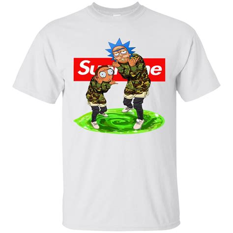 supreme shirt rick and morty supreme shirt hoodie sweatshirt teezoka