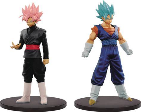 Banpresto Dxf Db Ss Vegetto Ss Blue Goku Set Of 2 dec168048 dxf warriors v3 fig inner cs previews world