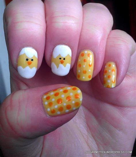 easter nail designs easter nail art sugarmitten