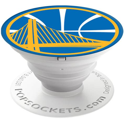 Gifts Designed For Mba Golden State Warriors by Golden State Warriors Logo Popsockets Cell Phone Accessory